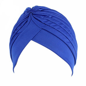 Turban Head Wrap Band - Pleated Hijab Cap - My Lifestyle Stores