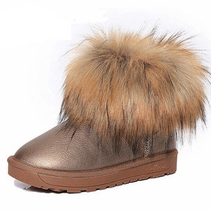 Thick Fur Boots