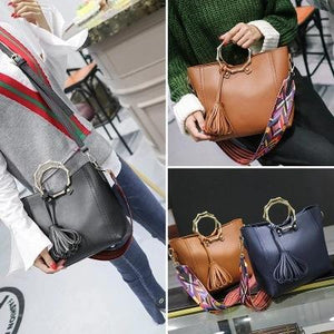 Satchel PU Leather Shoulder Bag - My Lifestyle Stores
