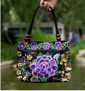 Embroidered handbag - My Lifestyle Stores
