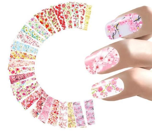 24 sheets Nail Sticker Marilyn Monroe Nail Art Water Decals - My Lifestyle Stores