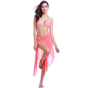 Swimdress Gauze Beach Dress Skirt - My Lifestyle Stores
