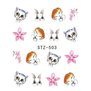 Jewelry Design Water Transfer Sticker Nail Art Decoration - My Lifestyle Stores