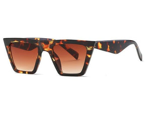 Rectangle Frame Fashion Sun Glasses Steampunk - My Lifestyle Stores