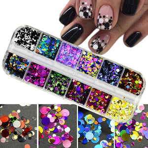 Ultra thin Sequins Nail Art Glitter Mini Palette - My Lifestyle Stores