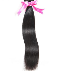 Malaysian Straight Hair 100% Human Hair Bundles Non-Remy Hair Extension - My Lifestyle Stores