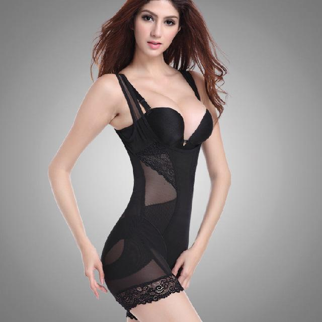 Lace Butt Lifter Sculpting Shapewear Full Body Control Corset Slimming Abdomen Lift - My Lifestyle Stores