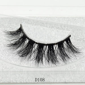 100% Handmade 3D Real Mink Thick Eye Lashes with Glitter Packing - My Lifestyle Stores