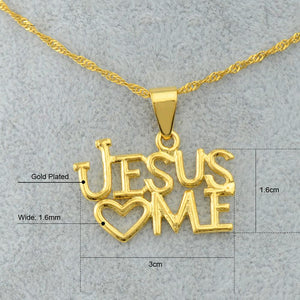 Jesus Love Pendant and Necklaces for Women - My Lifestyle Stores