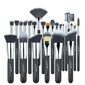 Vegan 24 Pcs Professional Makeup Brushes Very Soft Synthetic Taklon Hair - My Lifestyle Stores