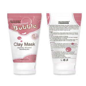 Neutriherbs carbonated bubble clay mask for deep cleansing - My Lifestyle Stores