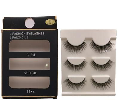 New 3 pairs 3d mink lashes extension - My Lifestyle Stores