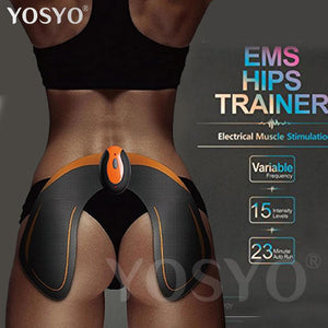 Wireless EMS Hips Trainer - Remote USB Rechargeable - Helps To Lift Shape and Firm the Butt - My Lifestyle Stores