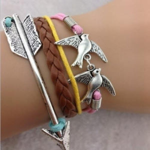 Soaring Forward Bird Bracelet - My Lifestyle Stores