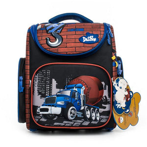 Cartoon Orthopedic Backpack for Grade 1-5 - My Lifestyle Stores
