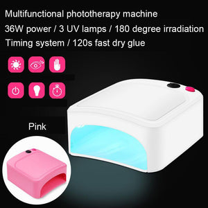 36W UV LED Lamp Gel Nail Polish Lamp Dryer Curing Light Manicure Gel - My Lifestyle Stores