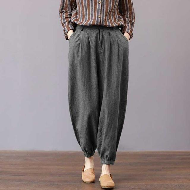 Zipper Baggy Trousers - My Lifestyle Stores