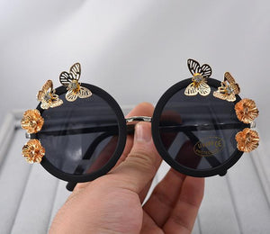 Oversized butterfly sunglasses - luxury party black LXL - My Lifestyle Stores