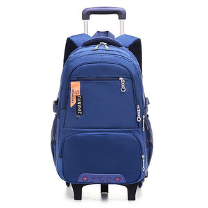 Removable Children Trolley School Bags with 2/3 Wheels - My Lifestyle Stores