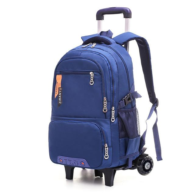 Removable Trolley School Bags with 2/3 Wheels for boys - My Lifestyle Stores