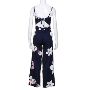 Floral Off Shoulder Jumpsuit - My Lifestyle Stores