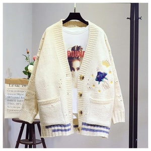 Embroidered Cardigan - My Lifestyle Stores