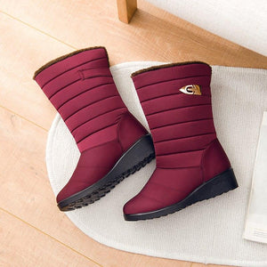 Anti-Slip Snow Boots - Thick Fur Cotton Shoes - My Lifestyle Stores