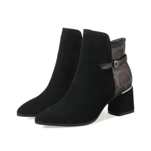 Pointed Toe Ankle Boots - My Lifestyle Stores