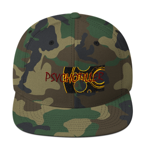 Wool Blend Psycho's Army Snapback