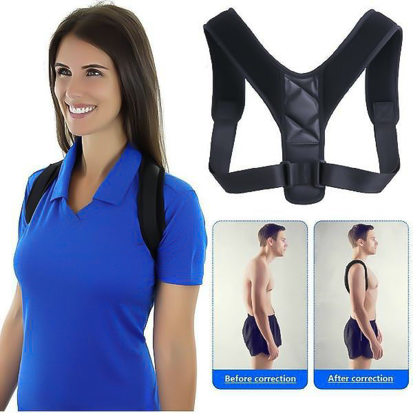 Adjustable Back Pain Reliever and Posture Correction Brace Support Belt