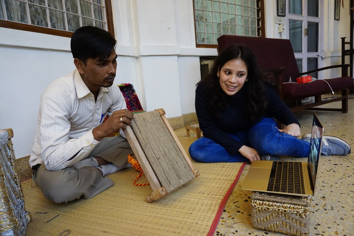 Live Weaving Workshops with Artisans