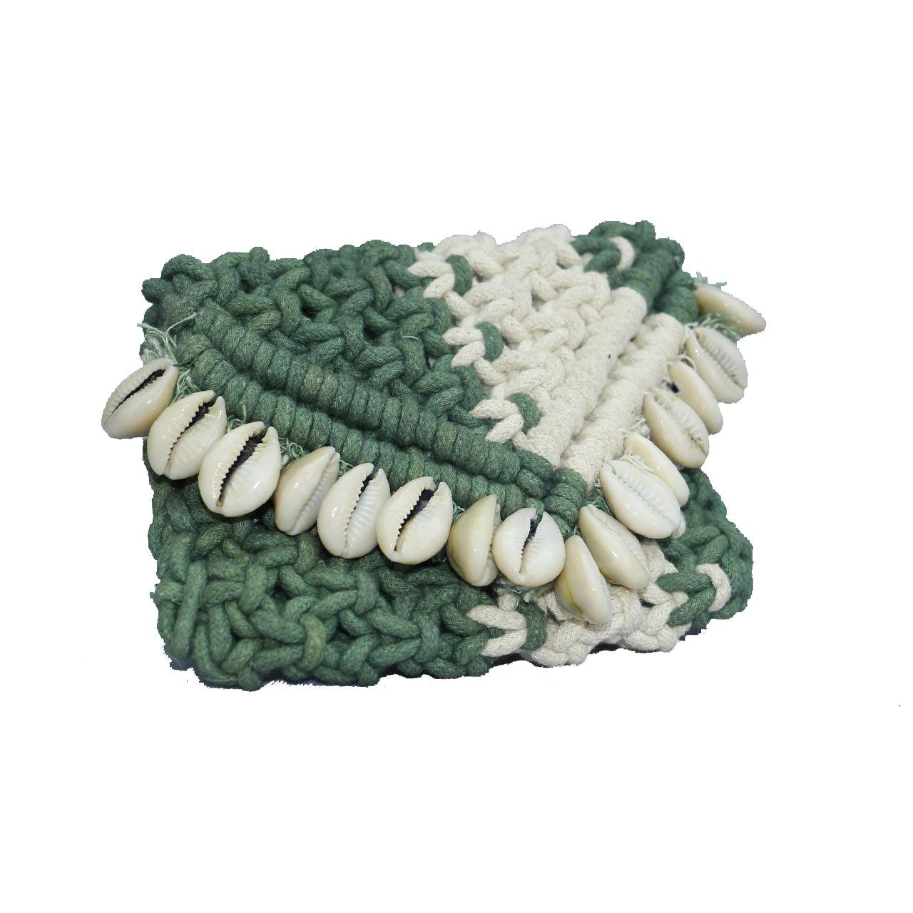 Dinky Shell Cotton Pouch