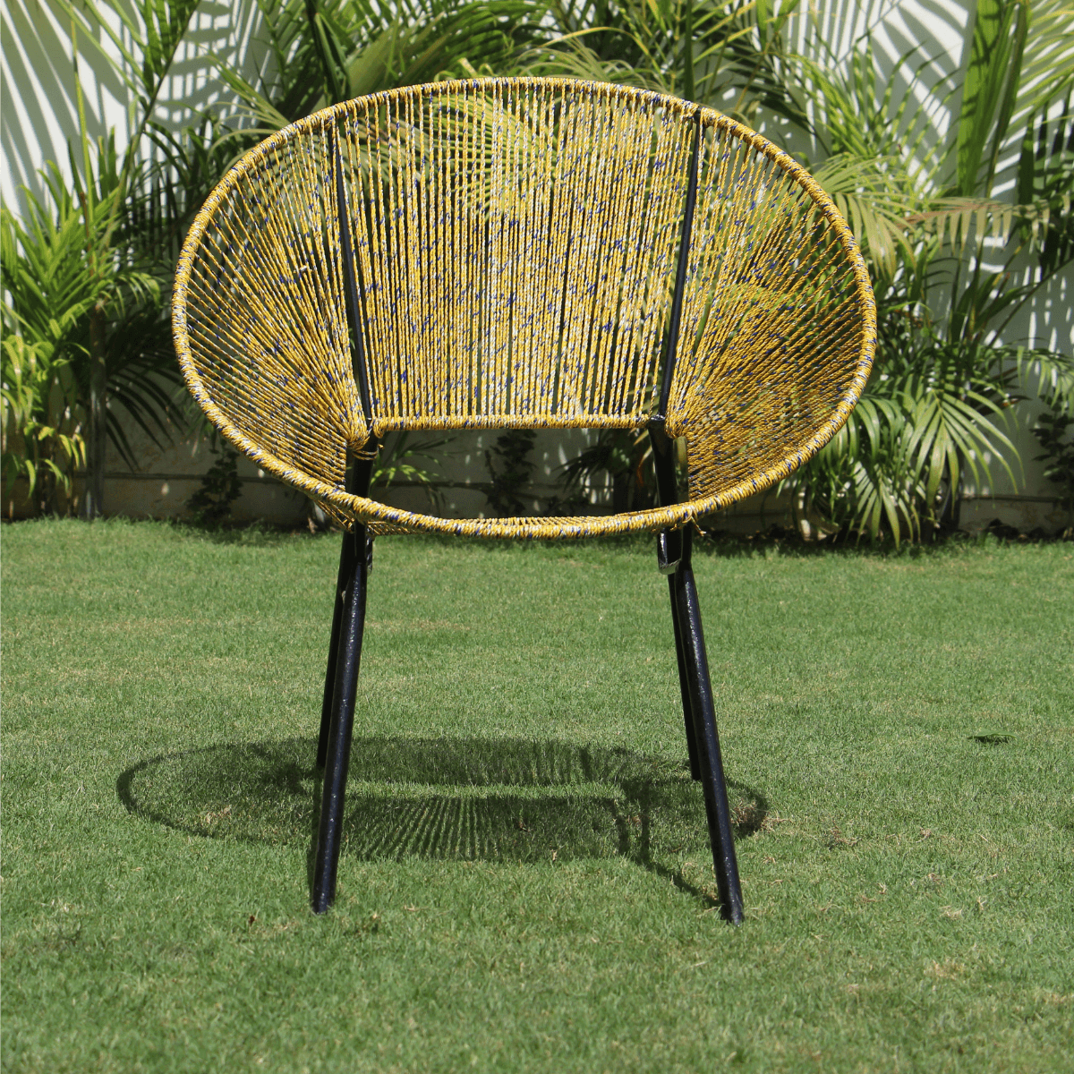 Glitz Upcycled Plastic Lounge Chair