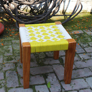 Parrotfinch Recycled Cotton Stool