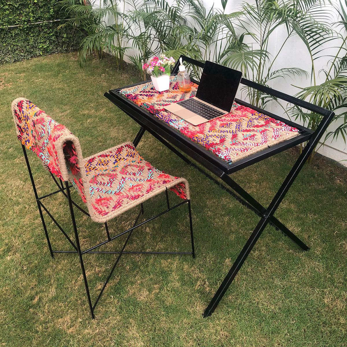 Work From Home Multifunctional Table & Chair Set