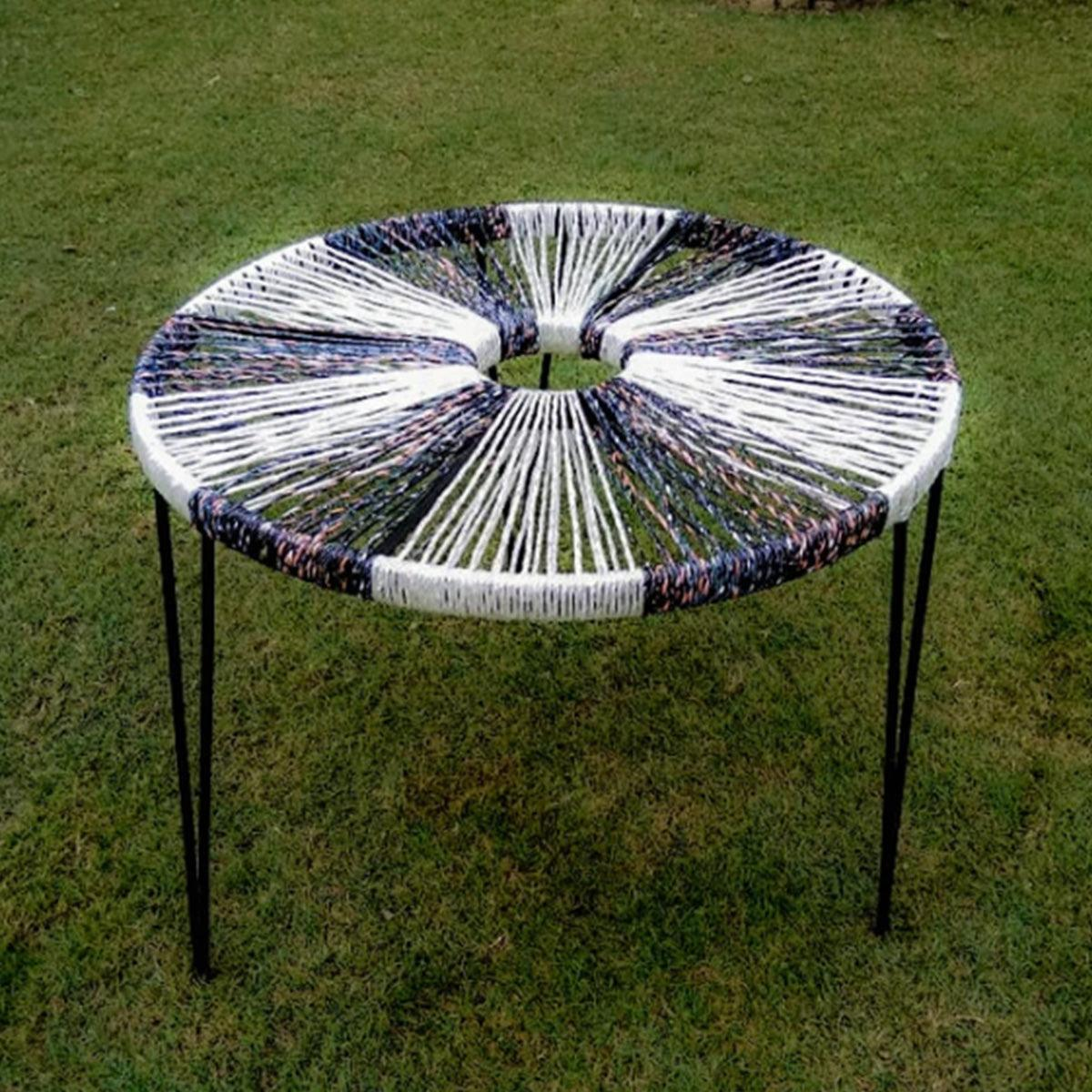 'Halo' Handwoven Round Table
