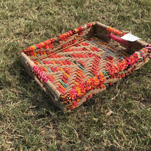 Pasanda Sustainable Small Handwoven Trays