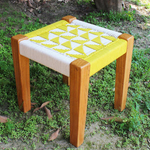 Pyramid Recycled Cotton Stool