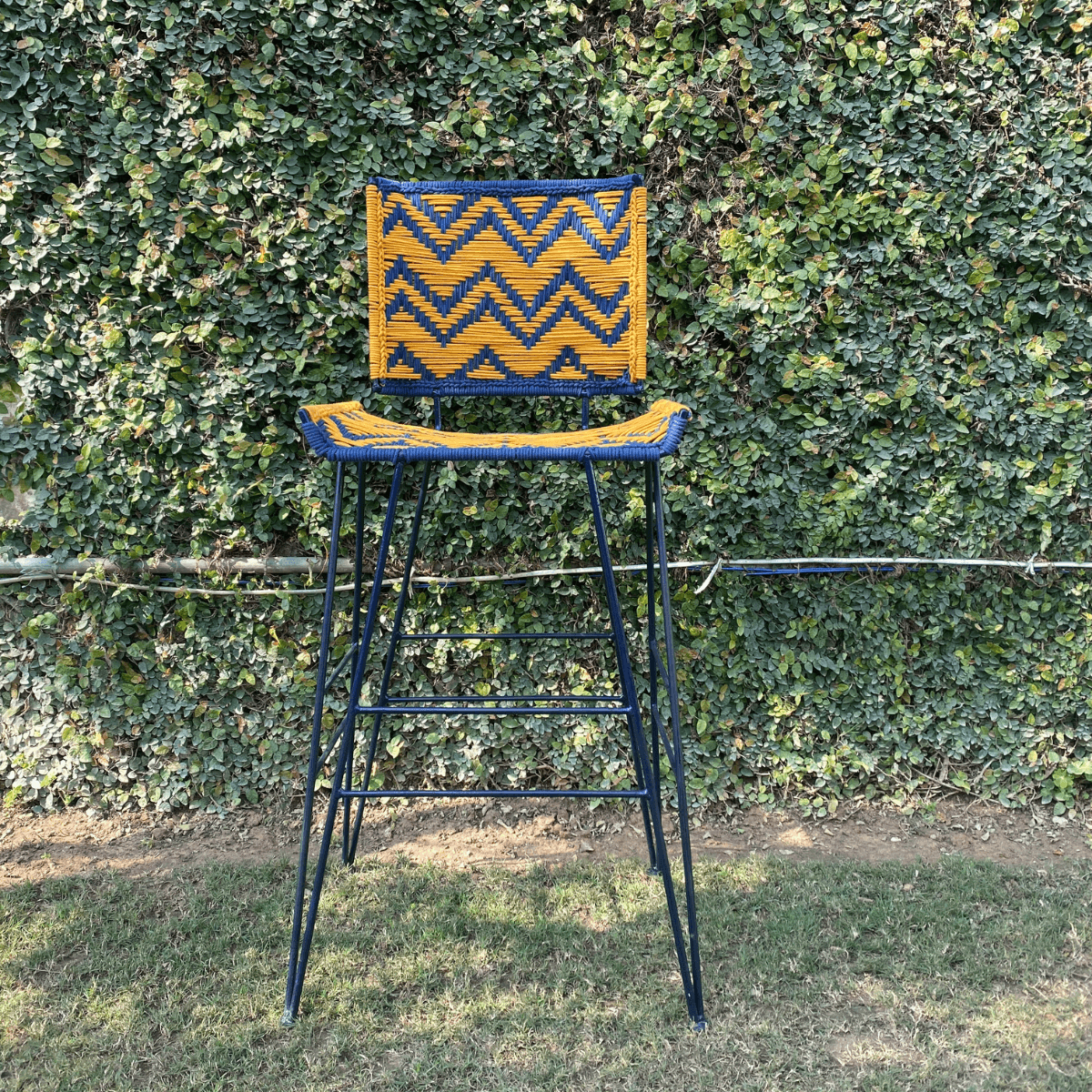 Mimosa Recycled Cotton Bar Stool