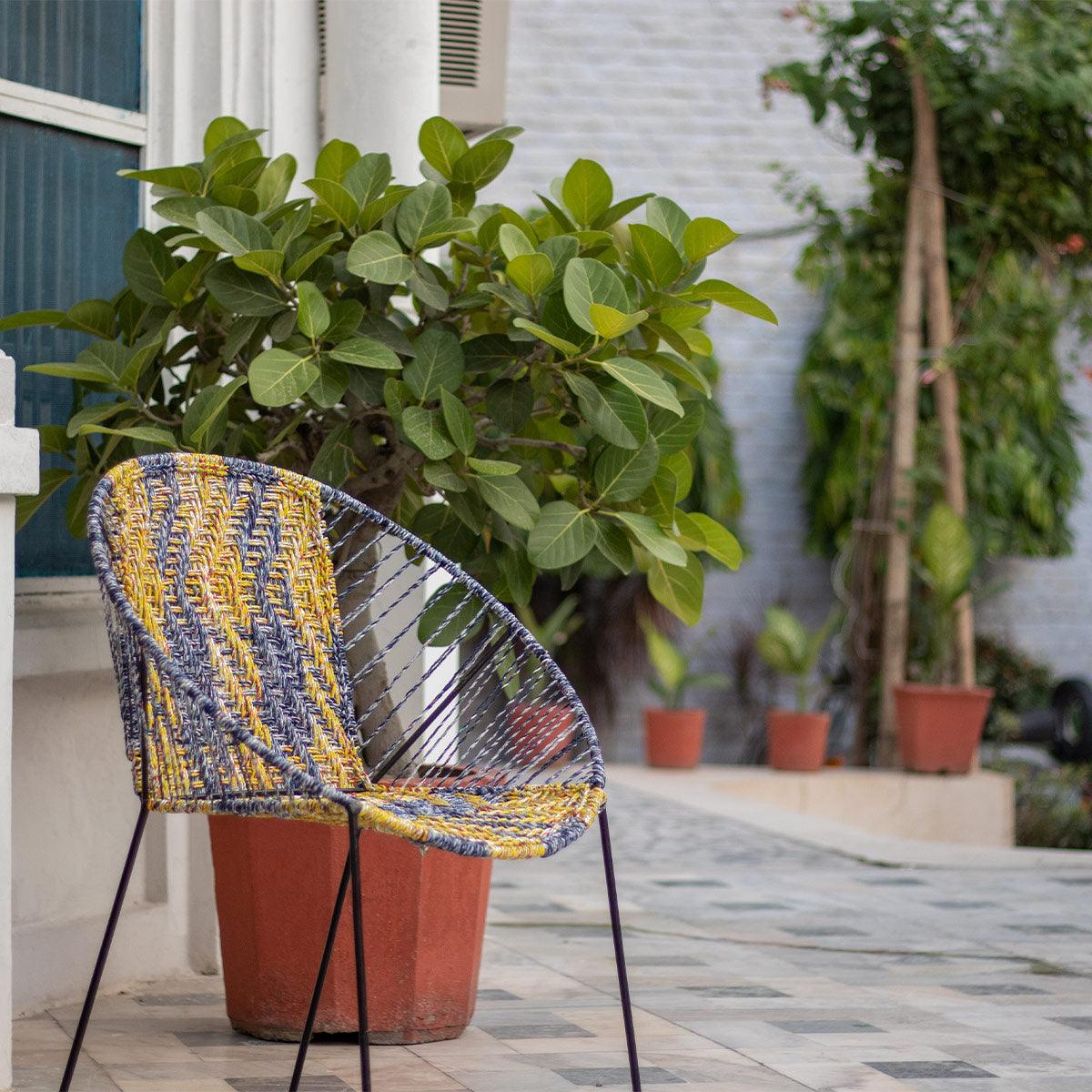 Marni Upcycled Plastic Garden Chair