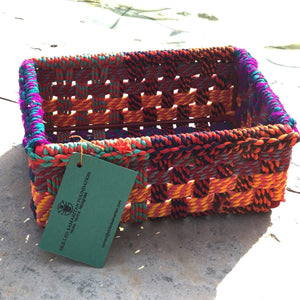 Baruni Upcycled Textile Box