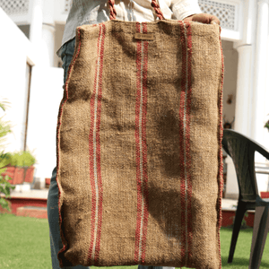 Arcadian Natural Jute Tote Bag