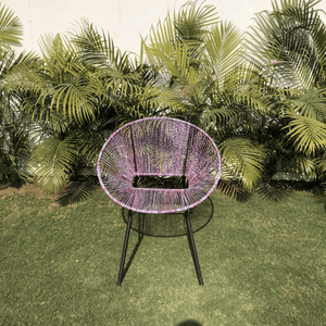 Spectrum Upcycled Plastic Lounge Chair