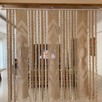 Load image into Gallery viewer, (s) Regal Handwoven Recycled Macrame Cotton Screen Divider