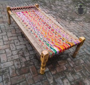 Traditional Charpoy Bed