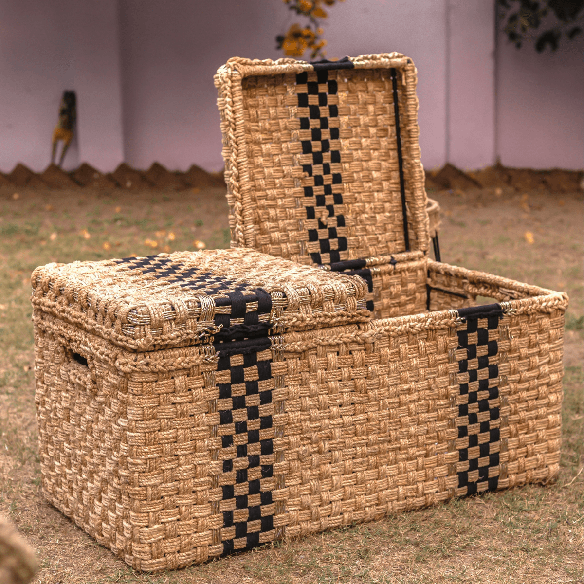 Twofold Jute & Cotton Trunk