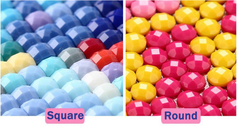 Round Vs Square Diamonds
