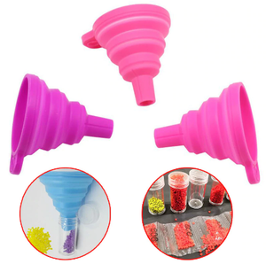 Fold-able Silicone funnel