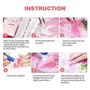 Amazing Artwork - Diamond Painting Kit