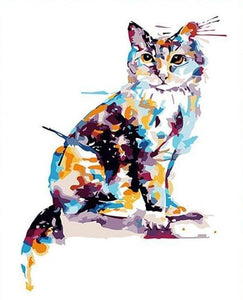 Amazing Cat Paint by Numbers